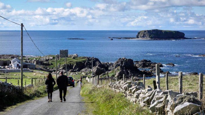 Carrickabraghy Castle Inishowen